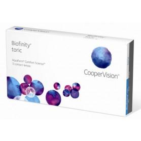 Biofinity Toric (3 лещи) по поръчка!