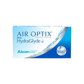 Air Optix plus HydraGlyde (1 леща)