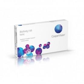 Пакет Biofinity XR Висок диоптър (6 лещи) + Капки за очи ИЛИ Разтвор