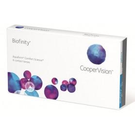 Пакет Biofinity (6 лещи) + разтвор и капки за очи по Ваш избор