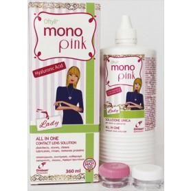 Разтвор за лещи Oftyll MonoPink 360мл + контейнер