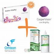 Пакет Avaira Vitality (2 лещи) + разтвор MonoGreen 360мл